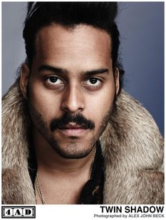 """The utterly delectable George Lewis, Jr. of Twin Shadow. You should go listen to his new album """"Confess"""" right now. #music"""