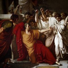 On this day in history March 15th 44 BC Julius Caesar Dictator of the Roman Republic is stabbed to death in a conspiracy led by Marcus Junius Brutus and carried out by more than thirty Roman senators in the Theatre of Pompey on the Ides of March. In times of peril and imminent danger Rome would nominate a Dictator to wield absolute power bypass a slow bureaucracy and serve Rome's best interests. With Caesar's victory in civil war and rise to power he named himself dictator perpetuo thus…