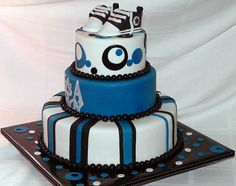 LOVE IT!!! IN BLUE & ORANGE!! Baby Boy Baby Shower by Frosted with Emotion, via Flickr