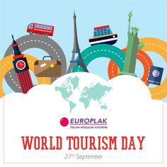 Happy World Tourism Day!! #EuroplakIndia #WorldTourismDay