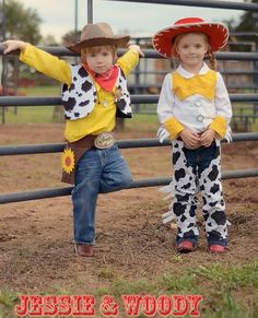 Jessie & Woody... for party invite!
