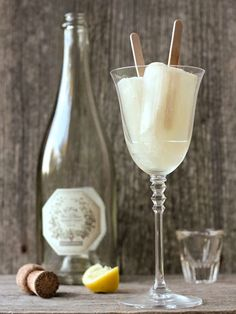 10 Boozy Popsicles To Make Your Summer Even Cooler | FRENCH 75 | This frosty twist on the classic champagne cocktail will up the fancy factor at your next barbecue.Get the recipe HERE
