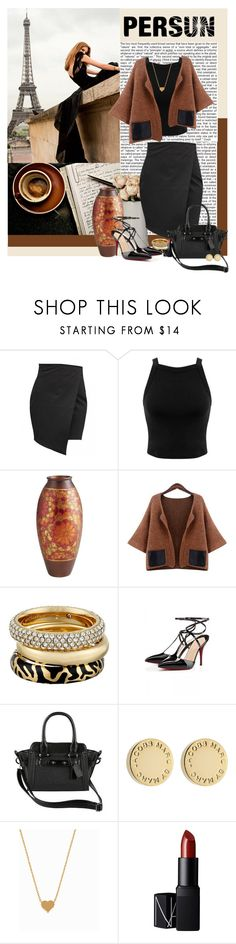 """Fall Brown"" by polybaby ❤ liked on Polyvore featuring Børn, Miss Selfridge, Michael Kors, Marc by Marc Jacobs, Minnie Grace and NARS Cosmetics"