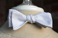 Fabric Bow Ties for Men {handmade gift ideas}