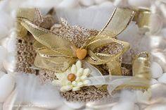 Lella creazione che passione: bomboniere nozze d'oro