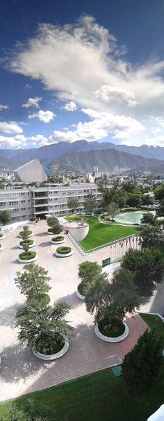 ITESM Campus Mty. Mexico. Photo Mario Menez
