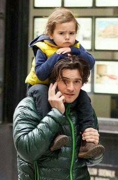 """Orlando and son """"Flynn"""""""