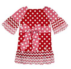 Check out the dress Darlene Gerath created on Designed By Me from Lolly Wolly Doodle! New Valentine's Day fabric added today!
