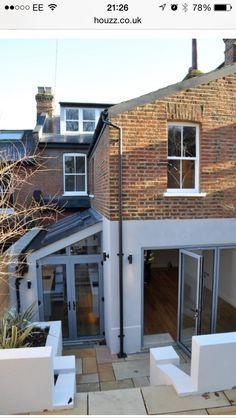 side return extension light well courtyard - Google Search
