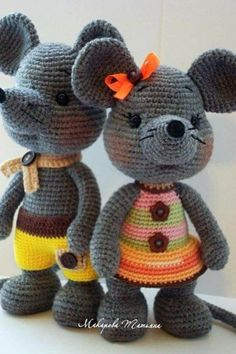 Baby Knitting Patterns Toys Do not crochet a mouse but a whole lot of mice. Don't crochet a mouse however an entire lot of mice. The woolly mice are trying ahead to you. Find and save images from the Crochet Animal Patterns, Stuffed Animal Patterns, Crochet Patterns Amigurumi, Baby Knitting Patterns, Amigurumi Doll, Crochet Animals, Crochet Dolls, Crochet Mouse, Knit Or Crochet