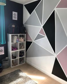 Really chuffed with how well the girls dressing room (area to throw their shit into🤦🏻♀️) turned out. Loved painting this room last… Room Wall Painting, Room Paint, Bedroom Furniture Makeover, Bedroom Decor, Girls Dressing Room, Bedroom Wall Designs, New Room, Girl Room, Room Inspiration