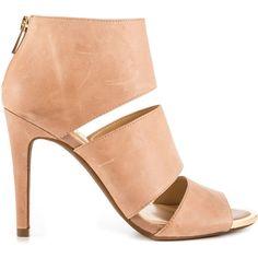 Jessica Simpson Women's Elsbeth - Mauve Ruby Tmbl (110 CHF) via Polyvore featuring shoes, pumps, beige, beige pumps, high heel shoes, stiletto pumps, sexy shoes and high heel stiletto pumps