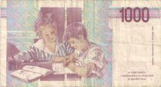 Wertseite: Geldschein-Europa-Südeuropa-Italien-Lira-1000-1990