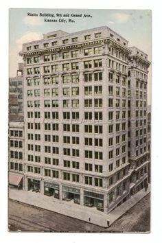 MO Kansas City Rialto Building 9th and Grand Ave.