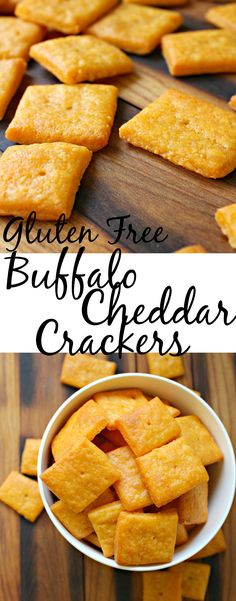 Gluten Free Buffalo Cheddar Crackers, a delicious snack to share or not to…