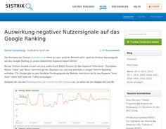 SEO: Schlechte Nutzersignale , schlechtes Ranking
