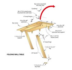 Bench Solution Fold-a-way work bench? - The Garage Journal Board