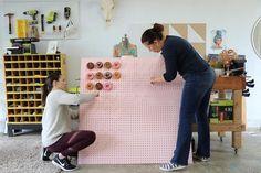 DIY Donut Wall - Home Made MimiHome Made Mimi
