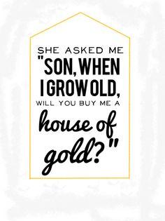 house of gold twenty one pilots lyrics