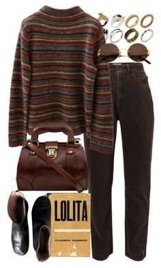 A fashion look from January 2017 featuring Giorgio Armani, black leather booties and leather purses. Browse and shop related looks. Preppy Outfits, Club Outfits, Fall Outfits, Fashion Outfits, Old School Fashion, 90s Outfit, Aesthetic Fashion, Parisian Style, Retro Fashion
