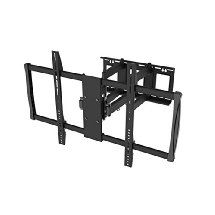 37 Quot Full Motion Corner Wall Mount With Floating Shelf For