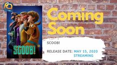 takes us back to where it began, when a young Scooby and Shaggy first meet, and team up with Velma, Daphne, and Fred to launch Mystery Incorporated. Upcoming Animated Movies, Home Movies, Positive Messages, Release Date, Warner Bros, Home Theater, Soundtrack, Role Models, Growing Up