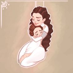 If Padmé had been alive to raise Leia. Star Wars Fan Art, Amidala Star Wars, Queen Amidala, Anakin And Padme, Ella Enchanted, Han And Leia, The Force Is Strong, Love Stars, Home And Deco