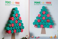 The 'Poke-A-Tree' Christmas Party Game Is Brilliantly Awesome And Super Fun!