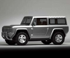New 2017 Ford Bronco Side