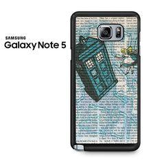 Alice In Wonderland, Tardis Doctor Who Galaxy Note 5 Case