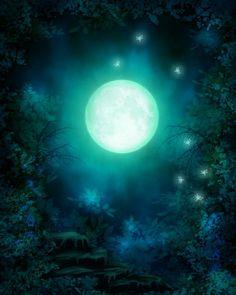 "Photo from album ""Хэллоуин фоны"" on Yandex. Studio Background Images, Digital Backgrounds, Moon Magic, Amazing Nature, Views Album, Watercolor Art, Fantasy Art, Photoshop, Fine Art"