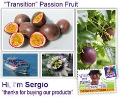 """""""…and together with a superb team we grow organic passionfruit and tamarillo here in Colombia.    We are convinced that the care of the environment, the support of local communities and the production of high quality products are interconnected.""""  #organic #natureandmore #passionfruit #sergio #code365"""
