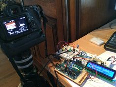 Control your DSLR to take a picture every x seconds for x minutes, fully configurable via LCD menus. By Wilfried Loche.