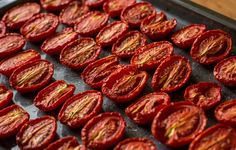Harlan Kilstein's Completely Keto Italian Oven Dried Tomatoes - Completely Keto Oven Dried Tomatoes, Plum Tomatoes, Cherry Tomatoes, Plum Recipes, Other Recipes, Low Carb Recipes, Dehydrated Onions, Dehydrated Food, Almond Cookies