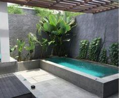 Plunge pool - Picture of Mercure Bali Legian - Tripadvisor Swiming Pool, Small Swimming Pools, Backyard Pool Landscaping, Small Backyard Landscaping, Small Pools, Swimming Pools Backyard, Backyard Pergola, Swimming Pool Designs, Garden Pool
