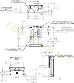 Profesionální výsuvný držák tv CHIEF CM2-L40U