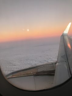 Airplane View, Sunset, Travel, Sunsets, The Sunset
