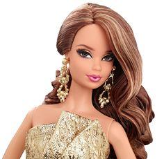 Shellbag BCP86 - Mattel Barbie auf dem roten Teppich, sortiert-gold dress: Amazon.de: Spielzeug