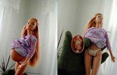 Censuran muñeca barbie embarazada