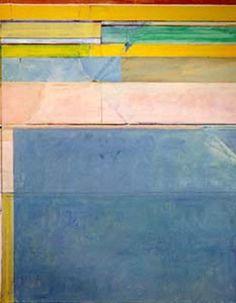 Richard Diebenkorn, Ocean Park No. 116. Love this abstract expressionist.