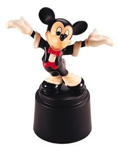 WDCC Disney Classics Symphony Hour Maestro Mickey #WDCCDisneyClassics #Art. Anniversary Backstamp: A special gold script message '50th Anniversary' was added to backstamp of sculptures crafted in 1992.  Retired 09/97.