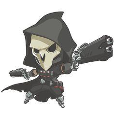 overwatch reaper chibi - Google Search