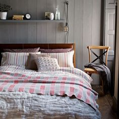 John Lewis: Layering Bed Linen: Decorating Ideas: Interiors