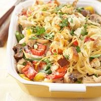 potluck chicken tetrazini...Oh great!...just my potluck!...ooopppssss sorry!
