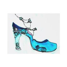 Awesome glass slippers.