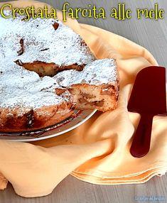 CROSTATA FARCITA ALLE MELE #ricettadelgiorno #food #loscrignodelbuongusto #passionecucina #mele #tortaallemele #crostata #crostatafattaincasa #ricettadolce #merenda #colazione