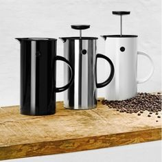 Press coffee maker, black - Stelton press coffee maker - Coffee & Tea - Tableware - Finnish Design Shop