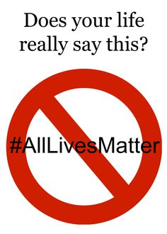 We like to say all lives matter. But does our life really show that we believe…
