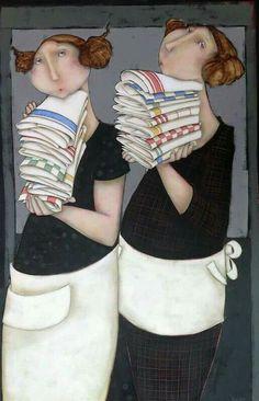 Cecília velhian artes Galeria ajur sp divulgador da arte Wood Painting Art, Woman Painting, Portrait Art, Portraits, Illustrations, Illustration Art, People Art, Whimsical Art, Artist Art