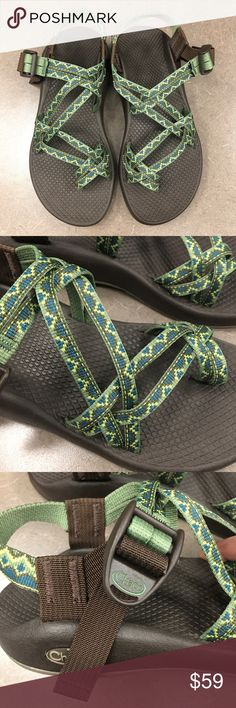 New Chaco Women's ZX2 Green Sandals size 7 New without box Chaco Women's ZX2 Green Sandals size 7. Vibram soles. Please look at pictures for better reference. Happy shopping! Chaco Shoes Sandals